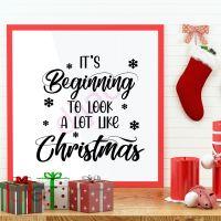A LOT LIKE CHRISTMAS<br>15 x 15 cm