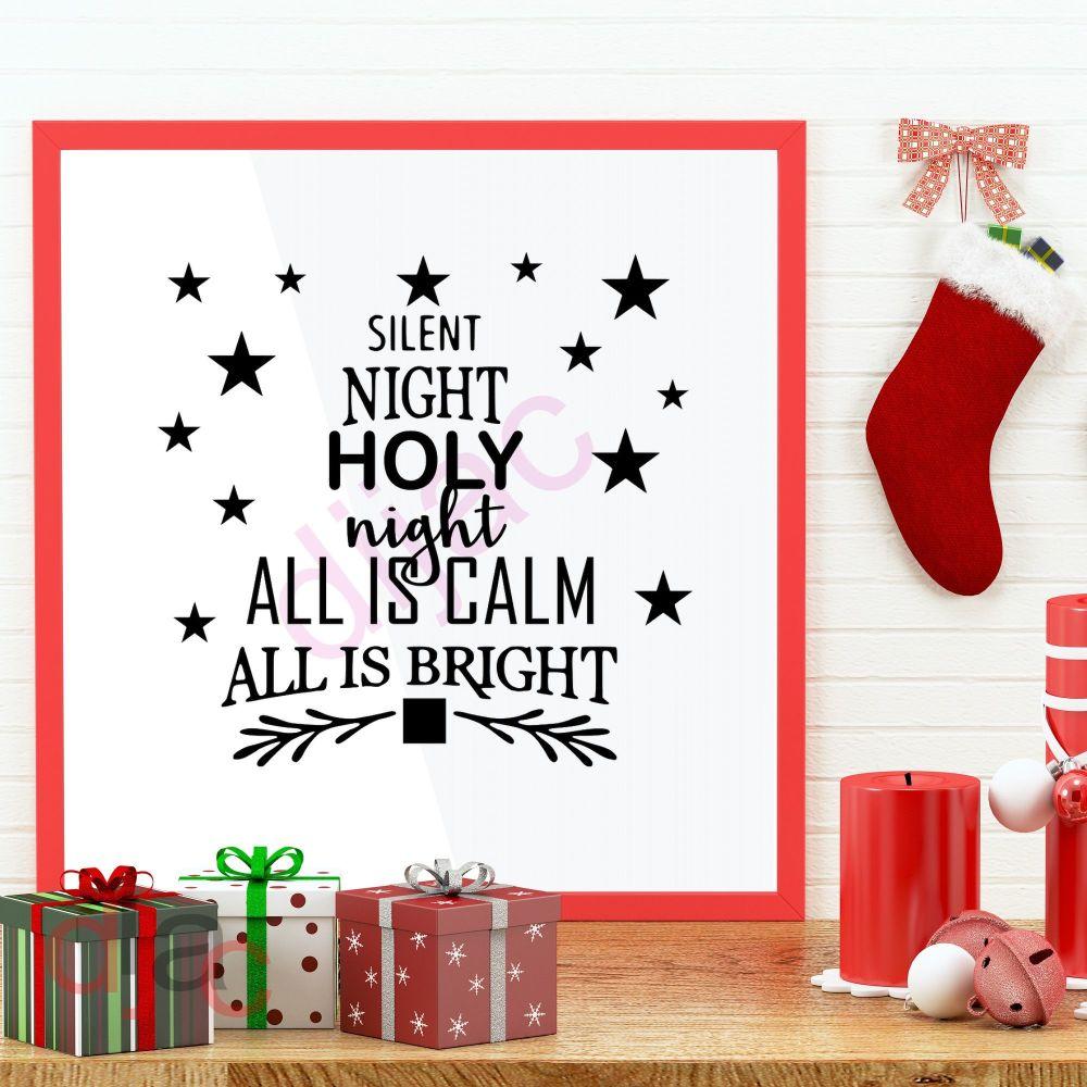 SILENT NIGHT<br>15 x 15 cm