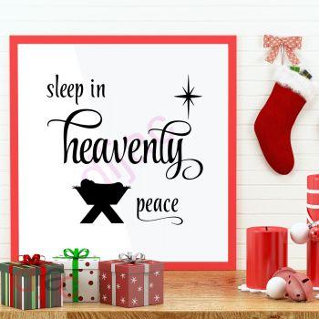 SLEEP IN HEAVENLY PEACE15 x 15 cm