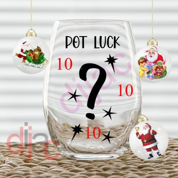 POT LUCK MIX 10 x Decals7.5 x 7.5 cm