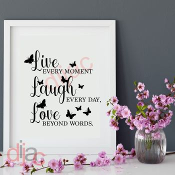 LIVE LAUGH LOVE15 x 15 cm