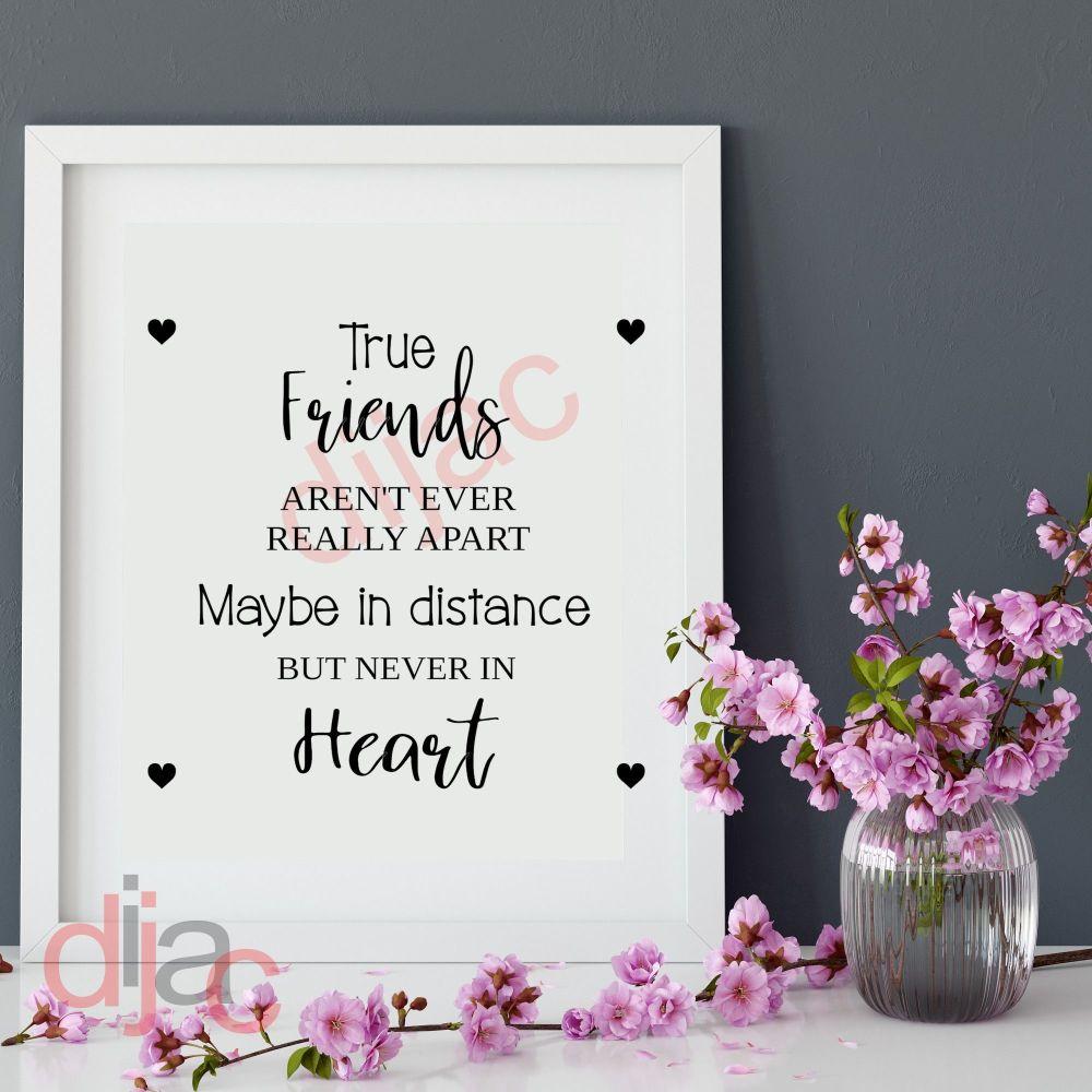 TRUE FRIENDS<br>15 x 15 cm
