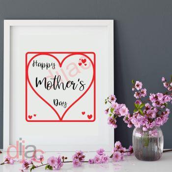 HAPPY MOTHER'S DAY 15 x 15 cm