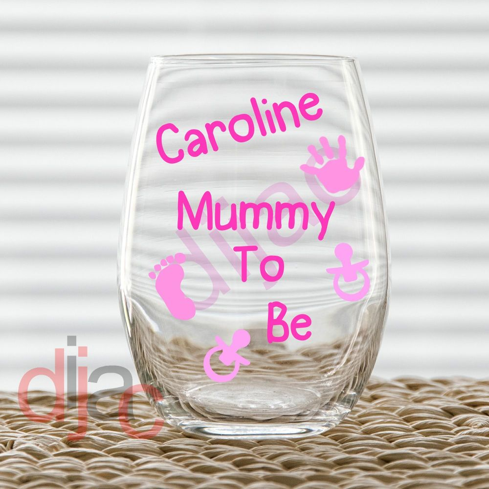 MUMMY TO BE<BR>PINK
