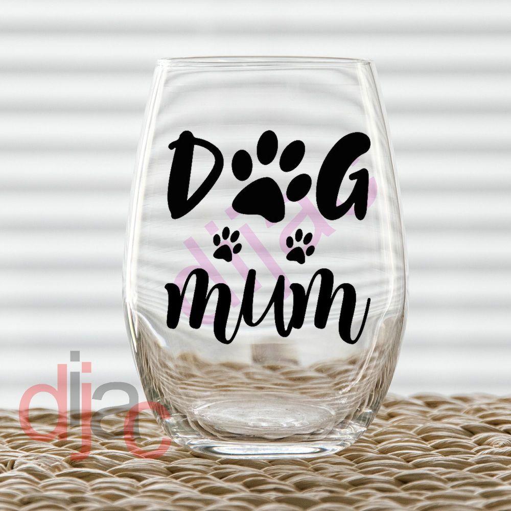 DOG MUM<br>7.5 x 7.5 cm