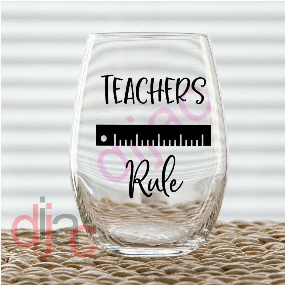 TEACHERS RULE7.5 x 7.5 cm