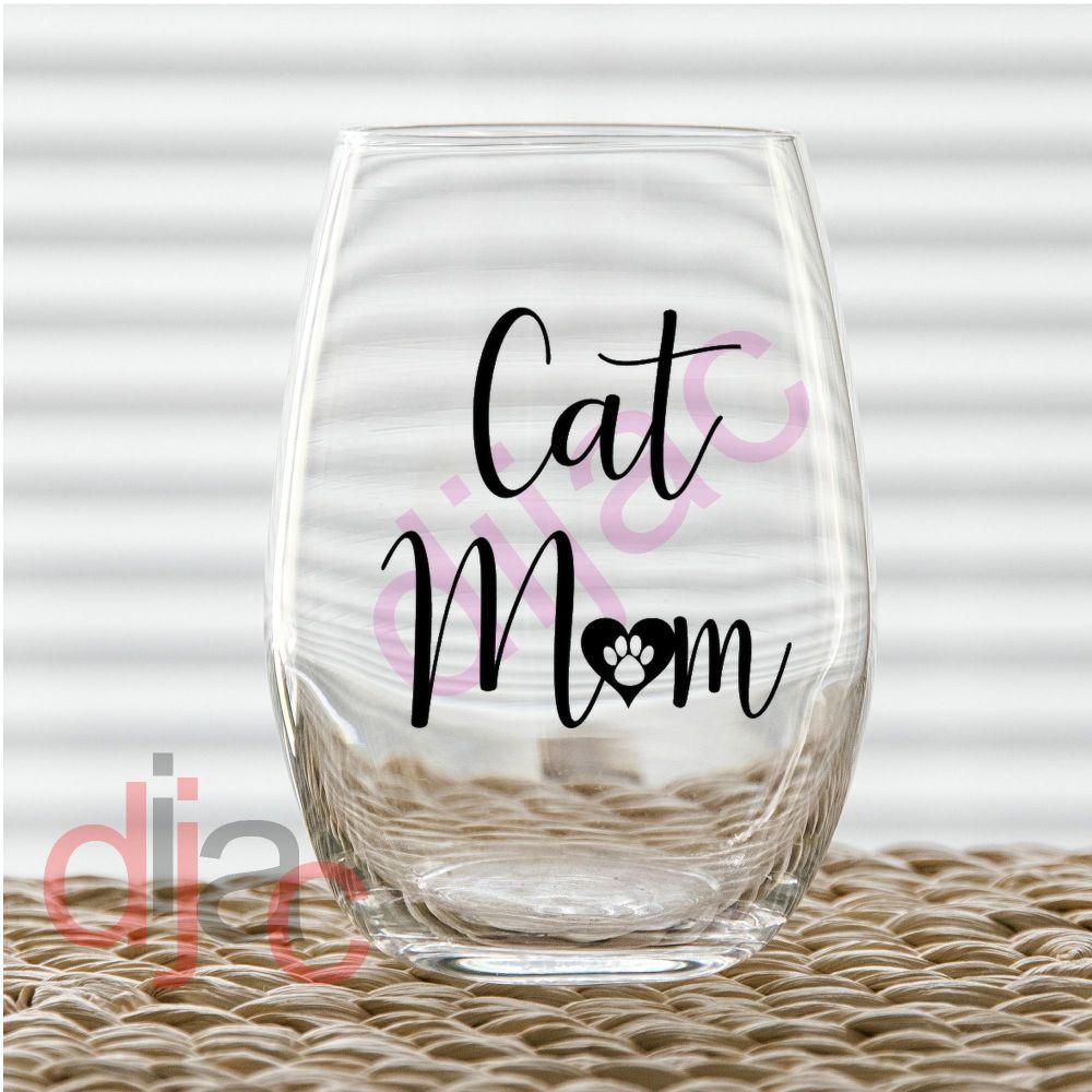 CAT MOM7.5 x 7.5 cm