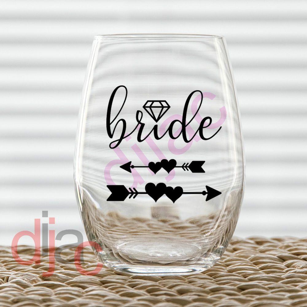 BRIDE VINYL DECAL
