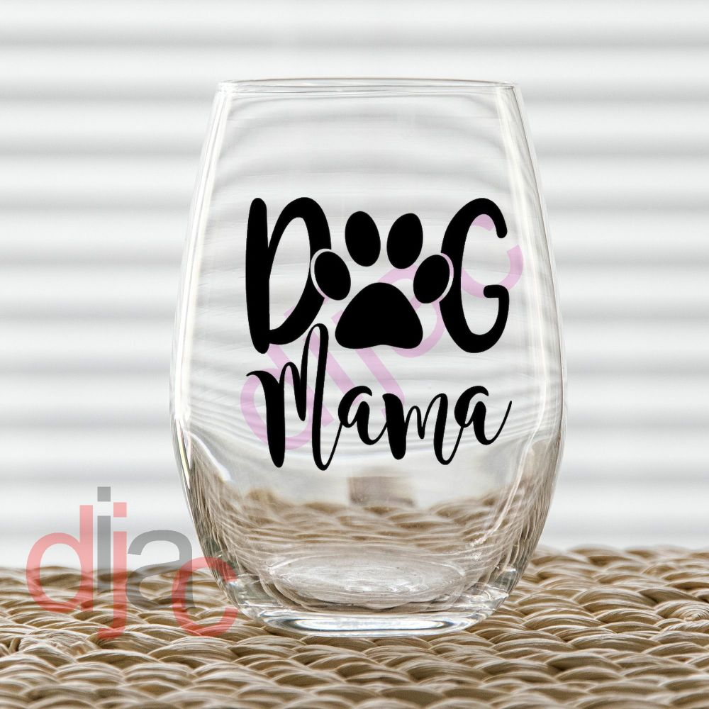 DOG MAMA VINYL DECAL