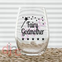 FAIRY GODMOTHER VINYL DECAL