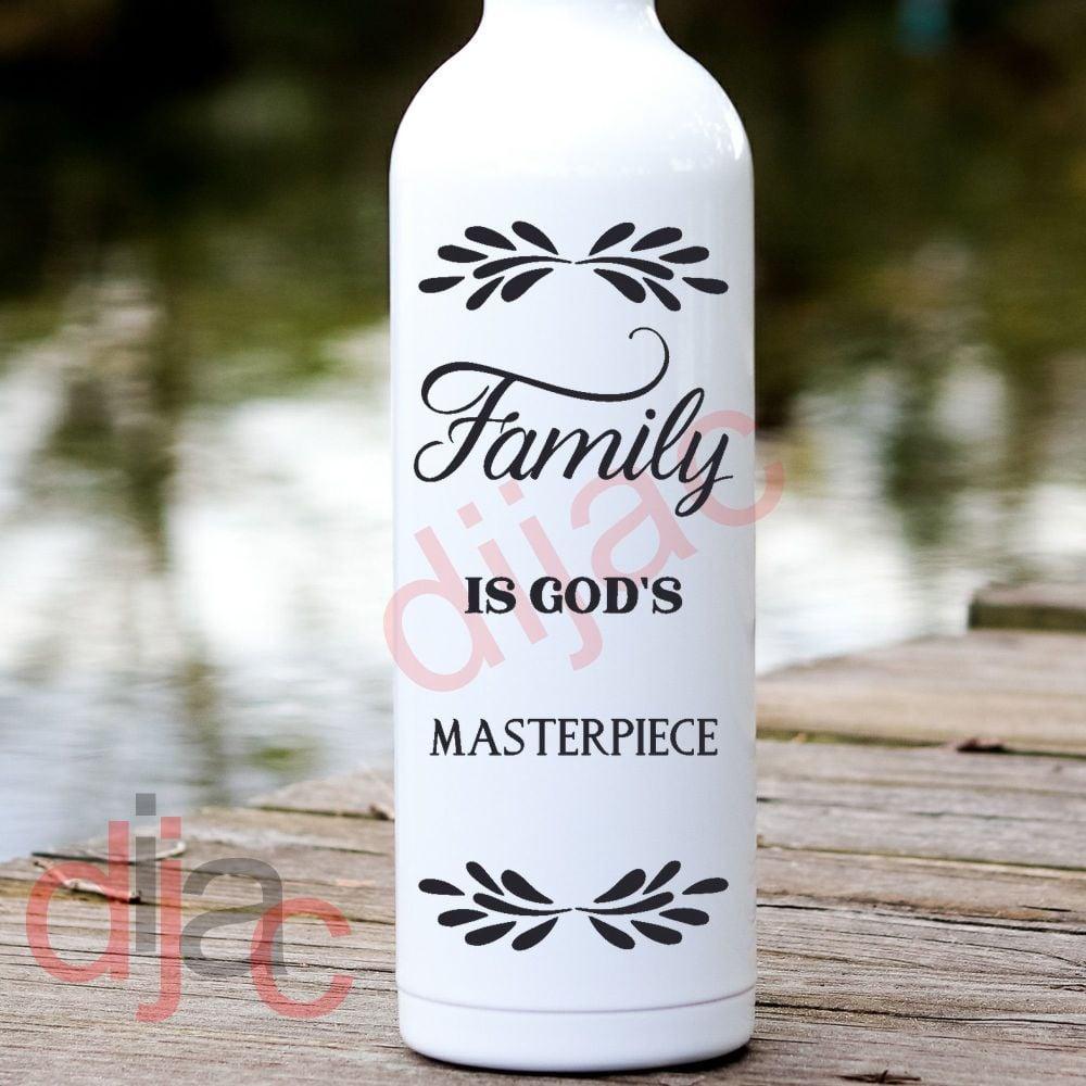 FAMILY IS GOD'S MASTERPIECE8 x 17.5 cm