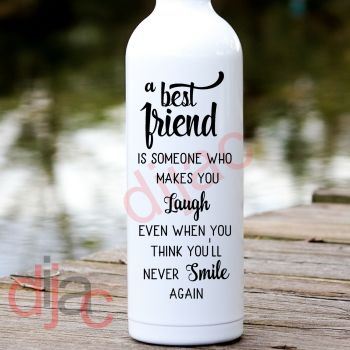 A BEST FRIEND IS ...8 x 17.5 cm