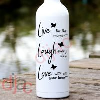 LIVE LAUGH LOVE<br>8 x 17.5 cm