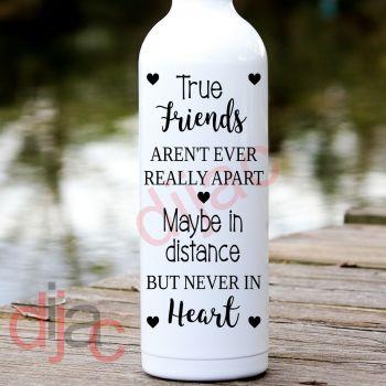 TRUE FRIENDS...8 x 17.5 cm