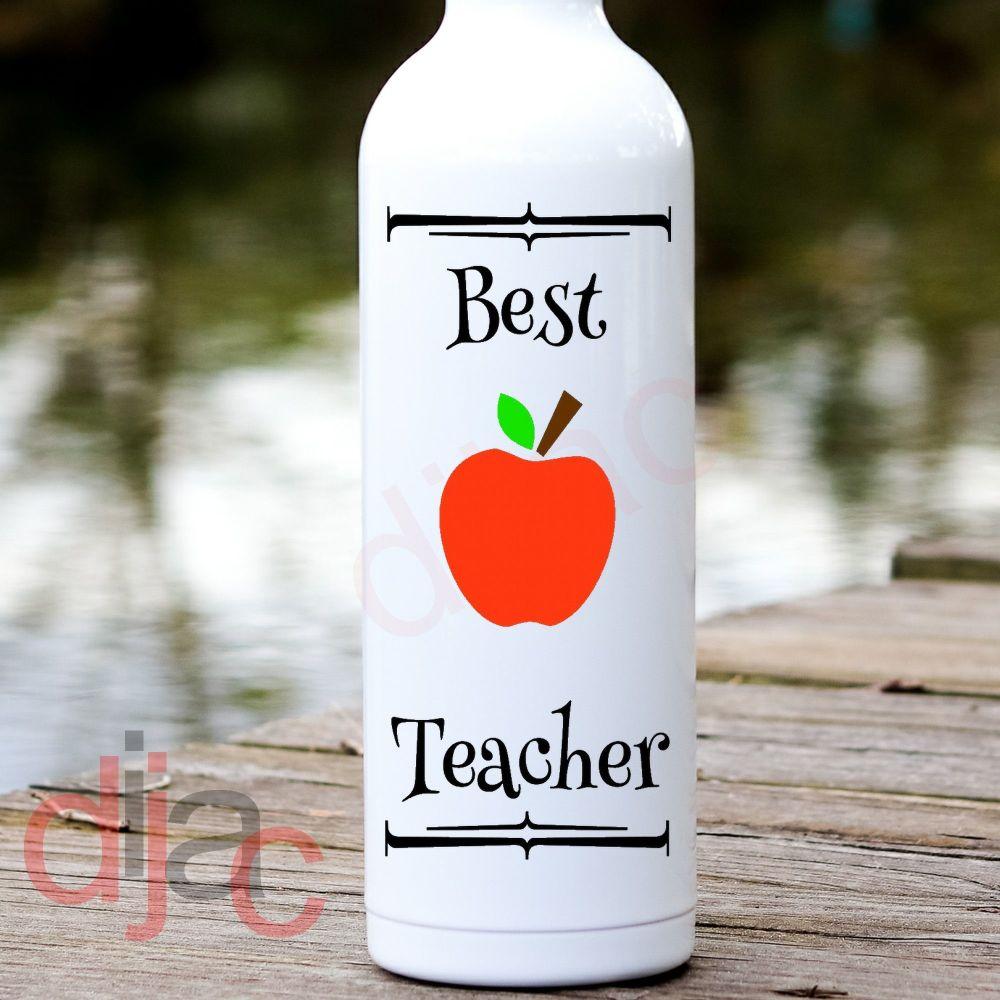 BEST TEACHER<br>8 x 17.5 cm