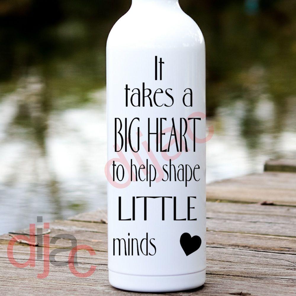 IT TAKES A BIG HEART8 x 17.5 cm