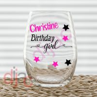 BIRTHDAY GIRL DECAL
