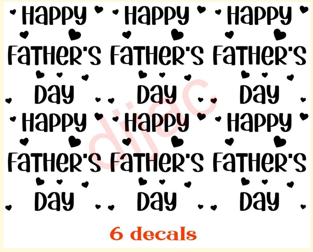 HAPPY FATHER'S DAY X 67.5 x 7.5 cm