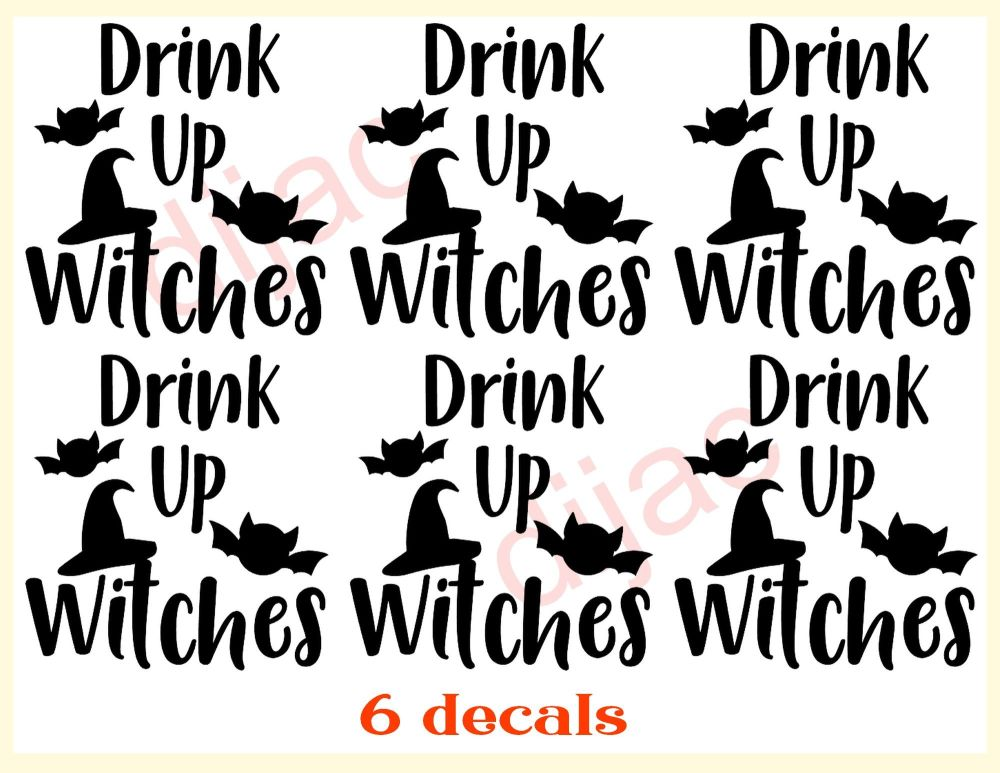 DRINK UP WITCHES x 67.5 x 7.5 cm