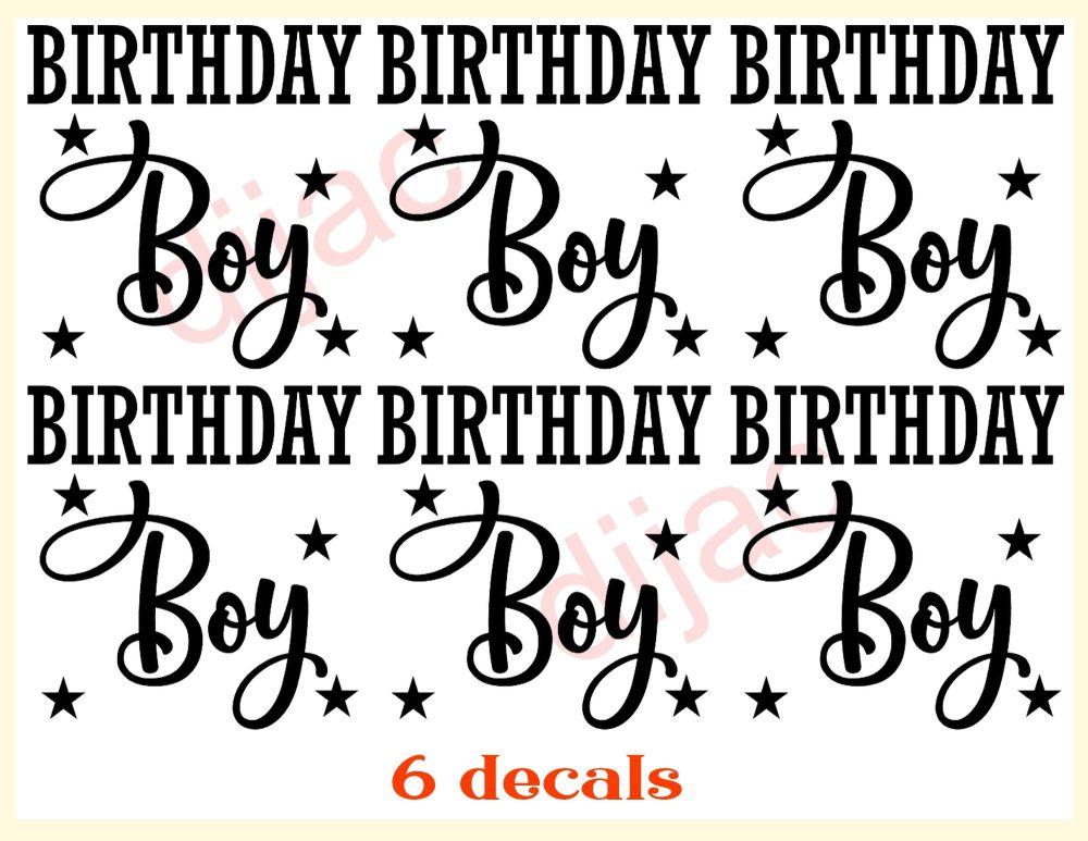 BIRTHDAY BOY x 67.5 x 7.5 cm