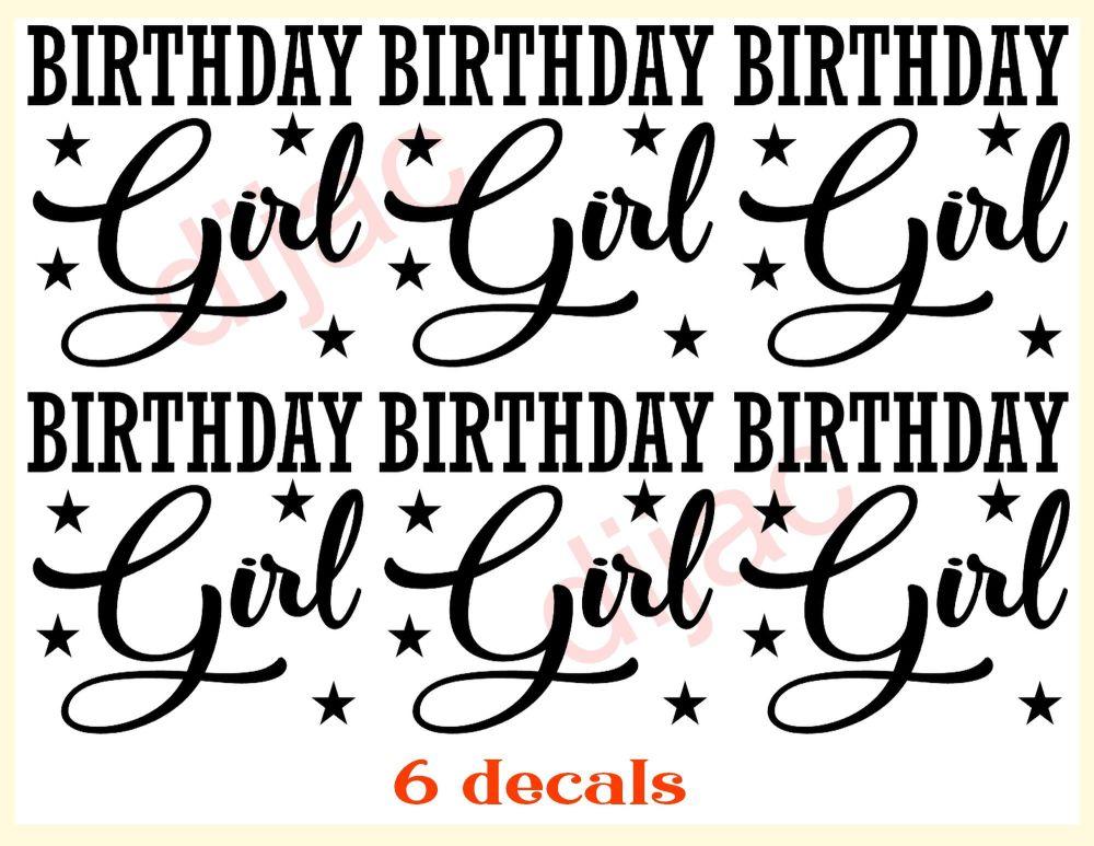 BIRTHDAY GIRL x 67.5 x 7.5 cm