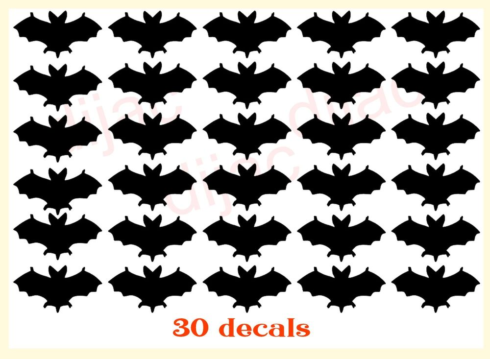 BATS x 30<br>EACH 2 x 3.5 cm