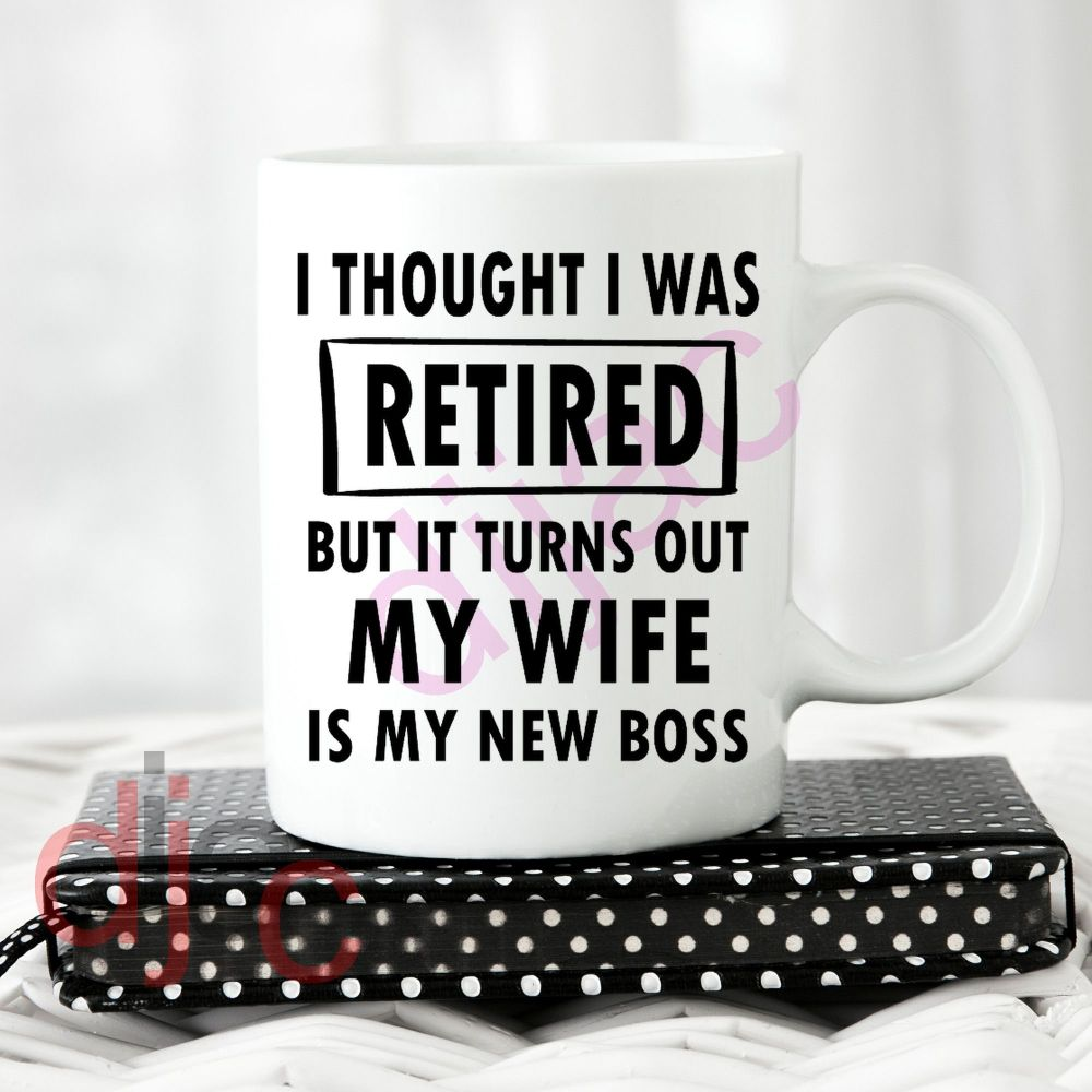 I THOUGHT I WAS RETIRED8 x 8.5 cm