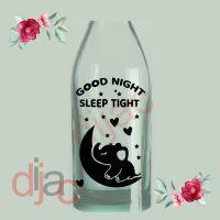 GOOD NIGHT SLEEP TIGHT<br>9 x 14 cm