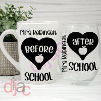 BEFORE SCHOOL<br> & AFTER SCHOOL