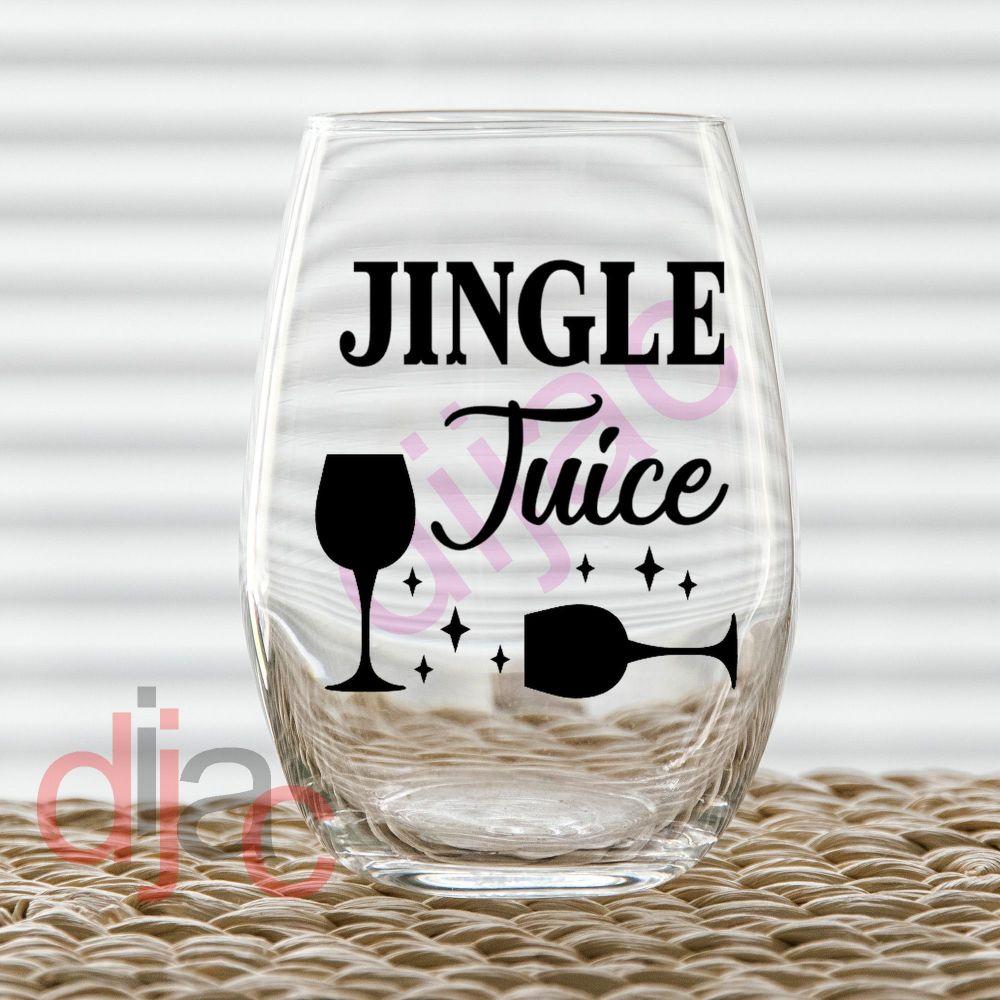 JINGLE JUICE (D2)7.5 x 7.5 cm decal