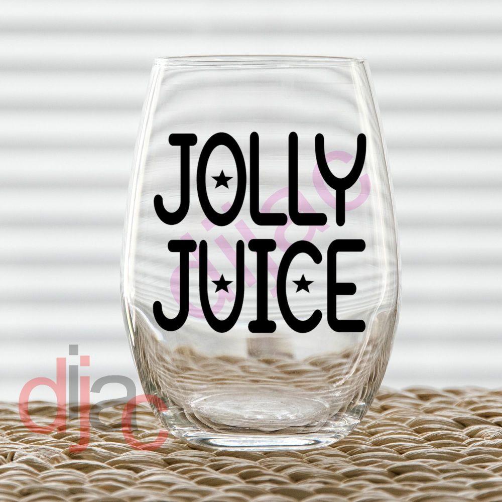 JOLLY JUICE7.5 x 7.5 cm decal