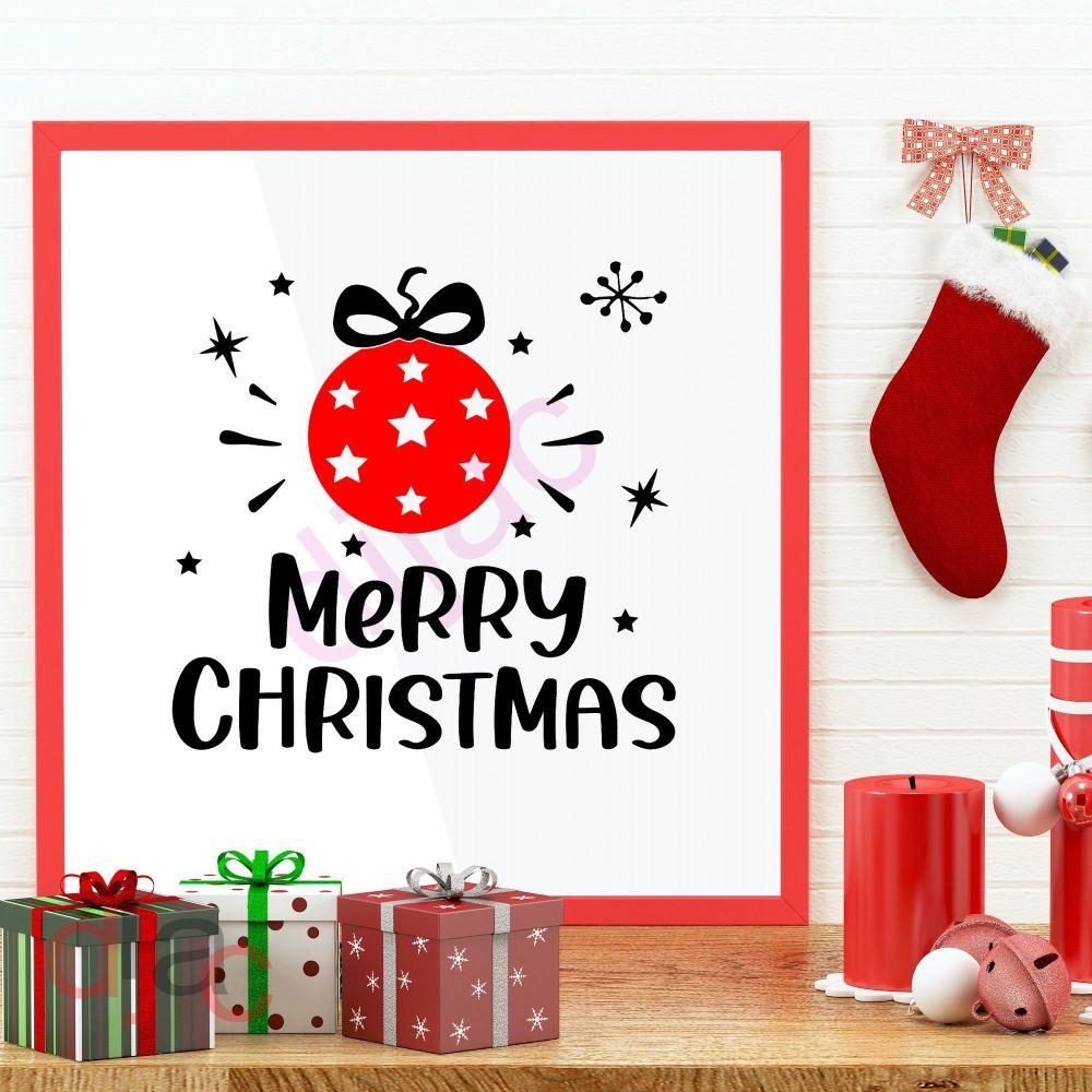 MERRY CHRISTMAS (D2)<br>15 x 15 cm