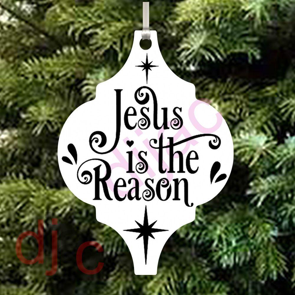 JESUS IS THE REASON ARABESQUE ACRYLIC DECORATION