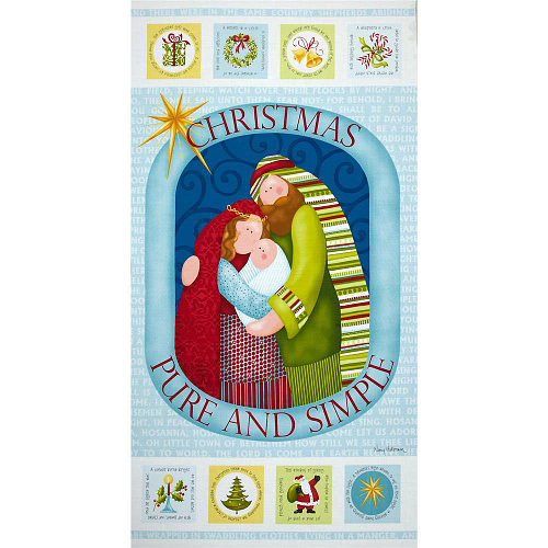 Pure & Simple Nativity Panel