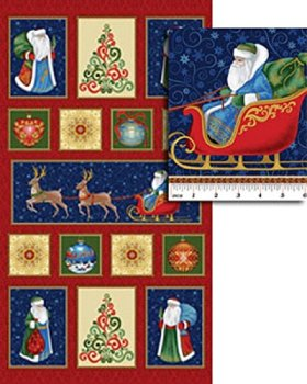 830M Father Frost Christmas Panel
