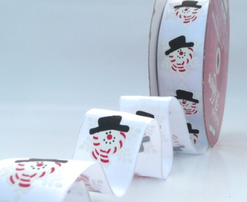 COS10A17 Wired Snowmen on White