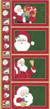 Childrens Christmas Table Place Mats fabric Panel XTM