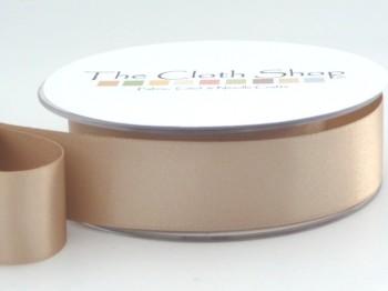 Double Satin Ribbon Ecru 3501-45