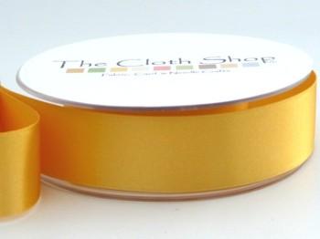 Double Satin Ribbon Gold 3501-37