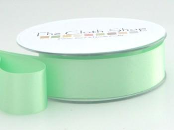 Double Satin Ribbon Mint Green 3501-56