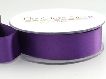 Double Satin Ribbon Purple 3501-19
