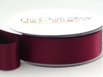 Double Satin Ribbon Plum 3501-49