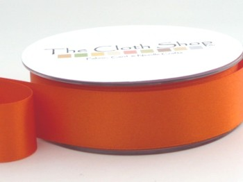 Double Satin Ribbon Orange Delght 3501-42