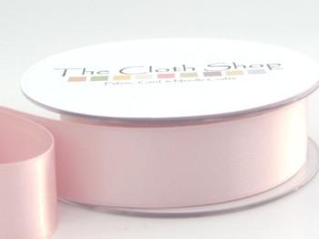 Double Satin Ribbon Sugar Pink 3501-400