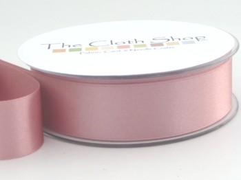Double Satin Ribbon Dusky Pink 3501-60