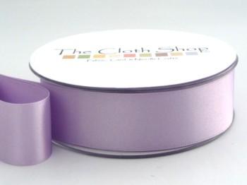 Double Satin Ribbon Helio Lilac 501-7