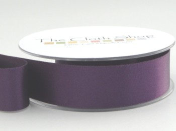 Double Satin Ribbon Blackberry 3501-6841