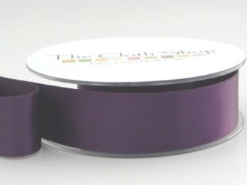 Double Satin Ribbon Blackberry Purple 3501-6841