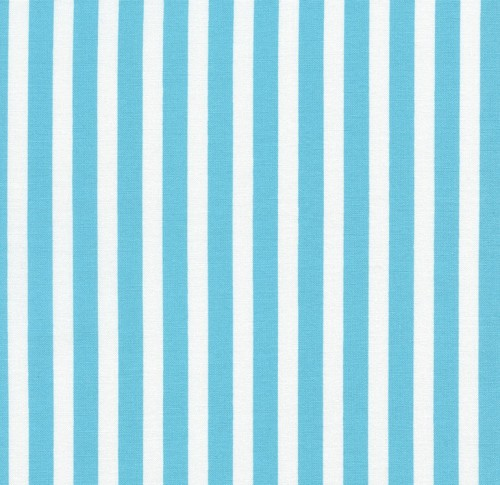 Tribeca Stripe in Aqua