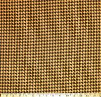 2141805-01 Houndstooth Black & Tan